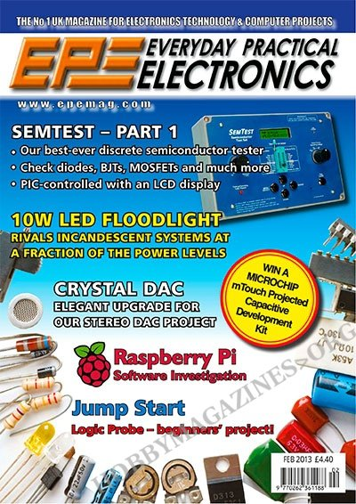 Everyday Practical Electronics - February 2013