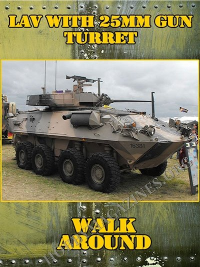 LAV with 25mm Gun Turret Walk Around