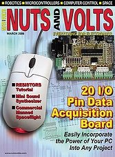 Nuts And Volts - March 2006