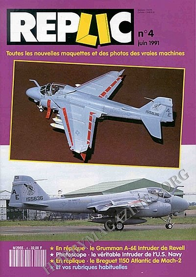 Replic 004 - A-6 Intruder, Breguet Atlantic
