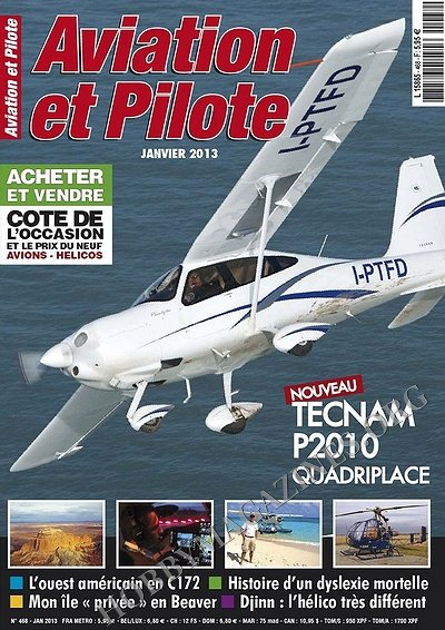 Aviation et Pilote 468 - Janvier 2013