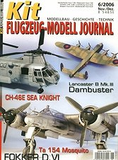 Kit Flugzeug-Modell Journal 2006-06 (German)