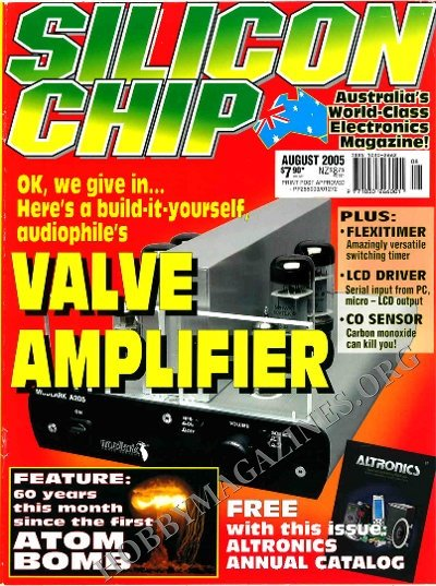 Silicon Chip - August 2005