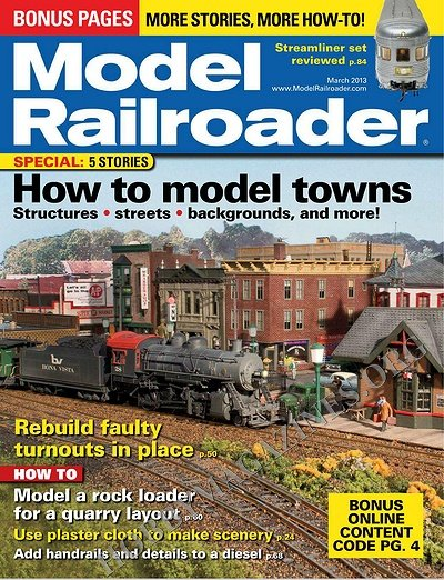 Model Railroader - March 2013