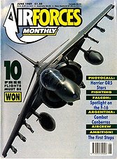 Air Forces Monthly  - June 1989