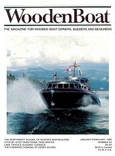 WoodenBoat - January/February 1985