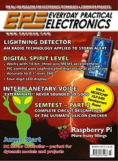 Everyday Practical Electronics - March 2013