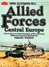Tanks Illustrated No.1 - Allied Forces: Central Europe