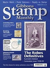 Gibbons Stamp Monthly - March 2013