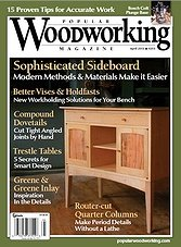 Popular Woodworking 203 - April 2013