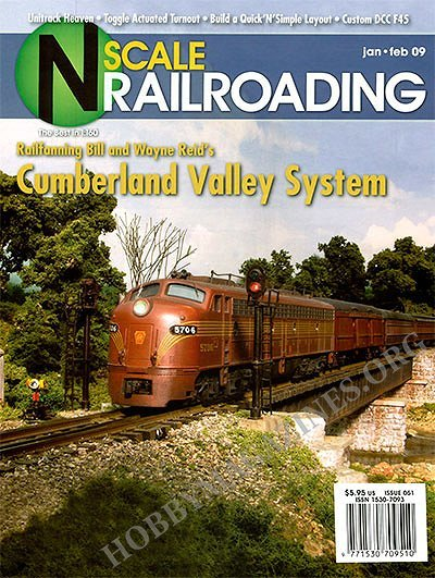 n scale railroading januaryfebruary 2009