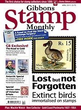 Gibbons Stamp Monthly - April 2013