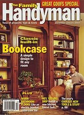 The Family Handyman - December/January 2002