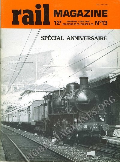 Rail Magazine 013 French 187 Hobby Magazines Free