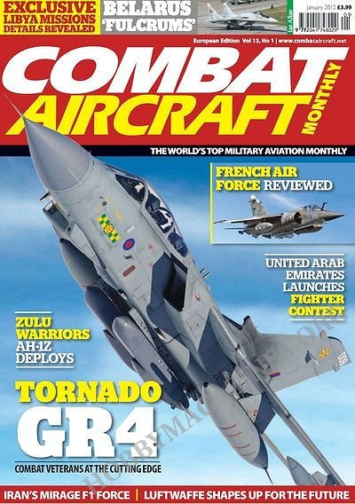 Combat Aircraft - January 2012