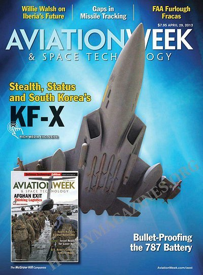 Aviation Week & Space Technology - 29 April 2013