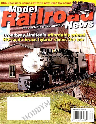 Model Railroad News - March 2009