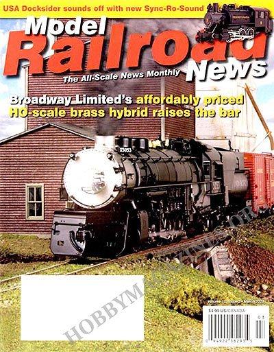 Model railroad magazines index
