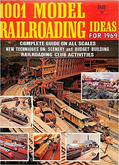 1001 Model Railroading Ideas 1969
