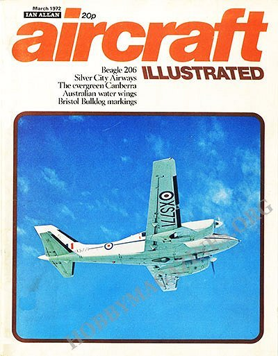 Aircraft Illustrated - March 1972