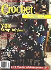 Crochet World - February 2000 (Vol.23 Num.1)