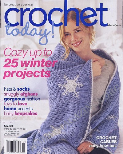 Best Crochet Magazines : Crochet Today! - December 2006/January 2007 ? Hobby Magazines ...