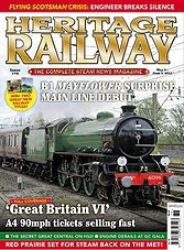 Heritage Railway 176 - May 9 - June 5,2013