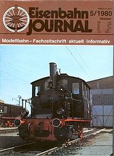 Eisenbahn Journal No 5 - Oktober 1980
