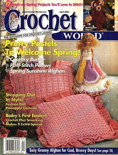 Crochet World : Crochet World - April 2000 (Vol.23 Num.2) ? Hobby Magazines ...