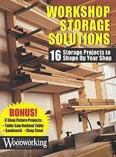 Workshop Storage Solutions: 16 Storage Projects to Shape Up Your Shop (2013)