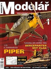 Modelar - January 2008 (Czech)