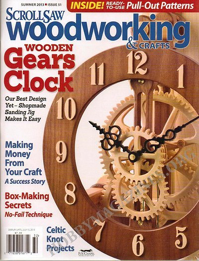 Scrollsaw Woodworking & Crafts #51 - Summer 2013