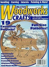 Creative Woodworks  & crafts #068 - January 2000