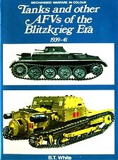 Blandford - Tanks and other AFVs of the Blitzkrieg Era 1939-41