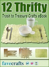 12 Thrifty Trash to Treasure Crafts