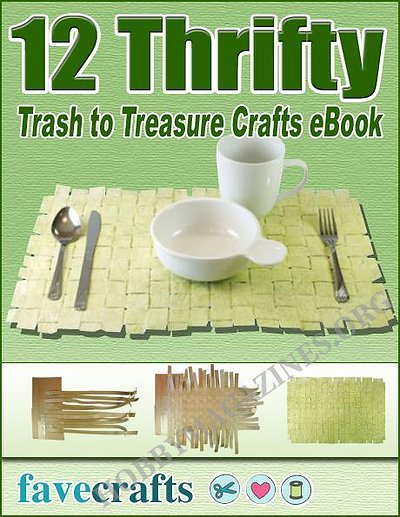 12 thrifty trash to treasure crafts hobby magazines free download digital magazines and books. Black Bedroom Furniture Sets. Home Design Ideas