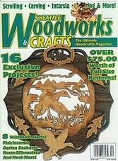 Creative Woodworks & crafts #70 - April 2000