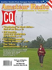 CQ Amateur Radio - May 2013