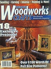 Creative Woodworks & crafts #71 - June 2000
