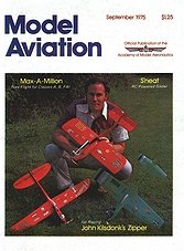 Model Aviation Vol.1 Iss.3 - September 1975