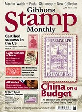 Gibbons Stamp Monthly - June 2013