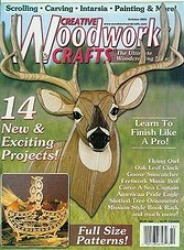 Creative Woodworks and Crafts #73 - October 2000