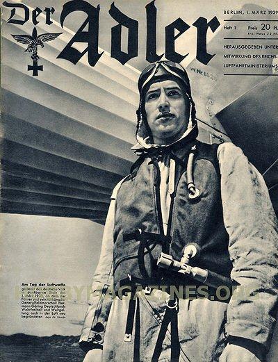 Der Adler No 1 1 March 1939 187 Hobby Magazines Free