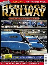 Heritage Railway 172 - July 11 - July 31,2013