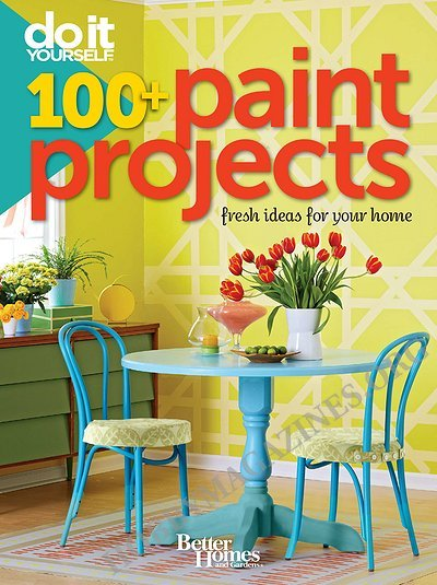 Do it yourself 100 paint projects fresh ideas for your for Do it yourself wall painting designs
