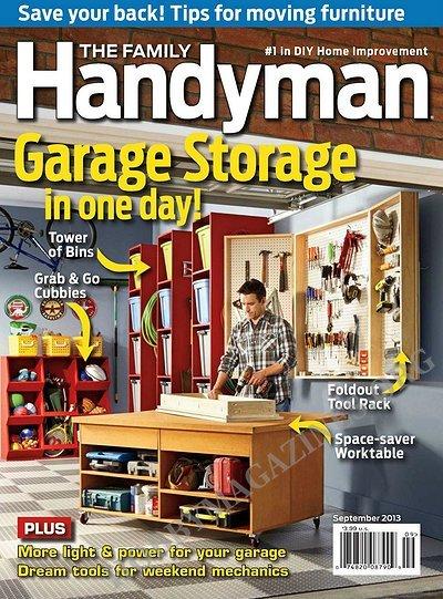 The family handyman september 2013 hobby magazines for The family handyman pdf