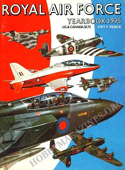 Royal Air Force Yearbook 1975