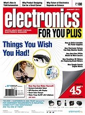 Electronics For You - January 2013