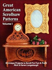 Great American Scrollsaw Patterns Vol. 1