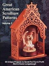Great American Scrollsaw Patterns Vol. 2